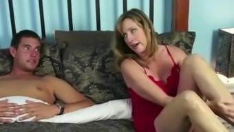 Jodi West gets a raging pecker