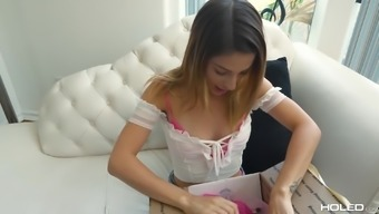 Kristen Scott is the one who enjoys anal only fucking and screaming