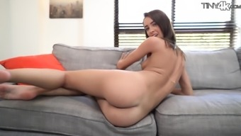Fit girl Charity Crawford is flexible and can do a lot of things during sex