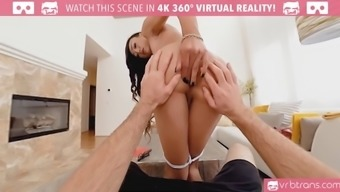 ts vr porn-sexy asian school girl venus lux get fucked in the ass