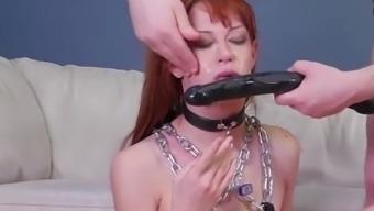 Latex plug bdsm Slavemouth Alexa