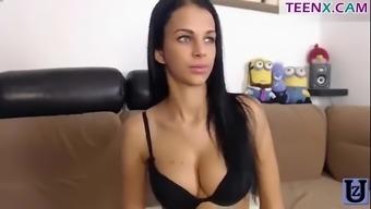 Beautiful brunette BelleLily