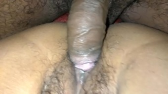 Hairy Indian wants to feel a couple of massive love tools