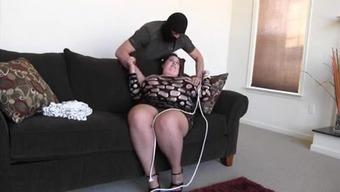 Joy,bondage in pantyhose