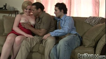 Chris Dano likes cock sucking and hot 3some action