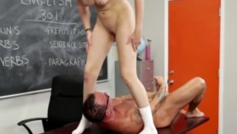 Teacher Long Cock In Sexy Schoolgirl