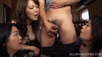 Marvelous Mature Ladies Go Hardcore In A Wild Orgy