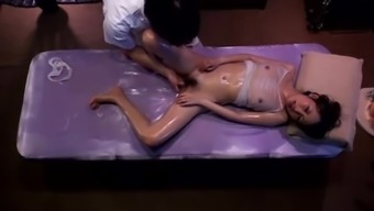 Japanese erotic oil massage