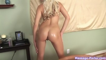 Eden Adams likes to give her massage clients a bonus blowjob