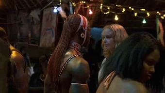 White Woman and African Warrior Romance