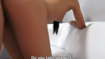 Brunette Gets Fucked At The Casting