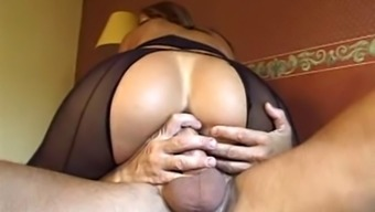 Pantyhose, dildo, gaping, anal, anal, anal... :)
