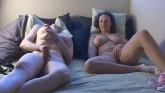 Masturbating Together on Cam BVR