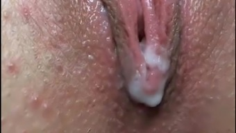 Pussy very close and ejaculation Polish webcam