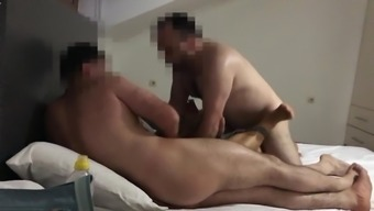 Japaneese Gets Gang Bang from 4 Turkish Men in Istanbul