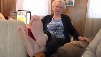 Granny's Soles Feet - 86 Years Old