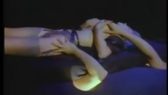 Moana Pozzi Bukkake in Naked Goddess 2 (1994)