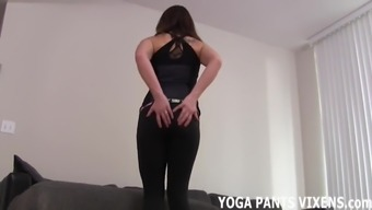 I will jerk your off after I do my daily yoga JOI