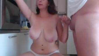 Busty Wife Getting Fucked On Webcam!