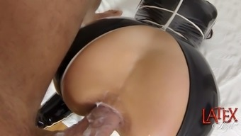 extreme milf angelina gets her fuckholes ravaged
