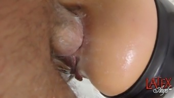 extreme milf angelina gets her fuckholes ravaged