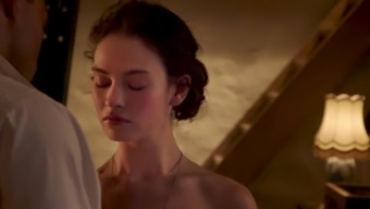 Lily James - 'The Exception'