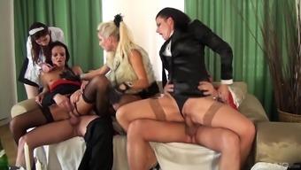 Eliss Fire and Celine Noiret are sluts who know how to seduce men