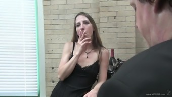 Drunk Mom Gives Head In A POV
