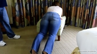 Student Punished on the Class Trip! - (Spanking)