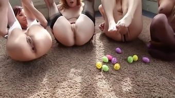 anal enthusiasts in longest butt squirt and ball shot contest
