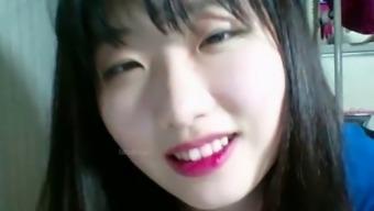 Korean sensual teen hottest cam teasing