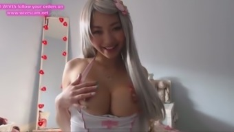 Amazing filthy Hot Asian cosplay