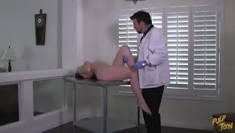 Natalie's Checkup - The Pervert Doctor