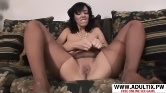 Horny new mama alia janine gets nailed hard her dad&#39s friend