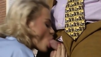 Vintage European interracial threesome porn