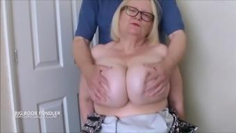 having my boobs fondled
