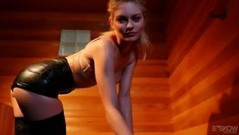 Lovely auburn hottie Alli Rae is actually for deep cock penetration