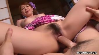 kana suzuki and china mimura get fucked in threeway