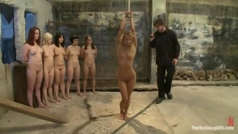 Kinky babes are going through some hell in this BDSM