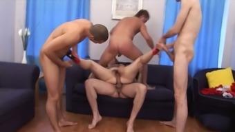 gangbang mature anal dp - uhd4k