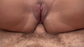 Nerdy and quite buxom Czech blondie Nikki Dream is anal fucked by Rocco