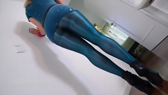 Blue Pantyhose