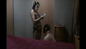 Spanking Pegging Chastity Mask Pet