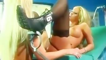 Get Lucky - Krystal Steal & Nikki Benz