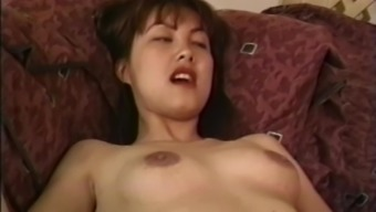 Tina Tai gets her hairy pussy banged by a naughty stranger