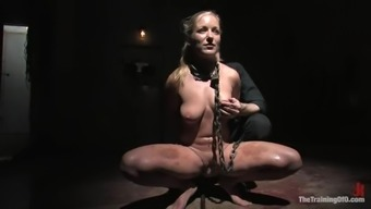 Dia Zerva gets tied up and humiliated in BDSM video