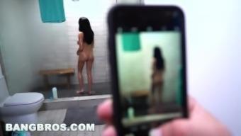 BANGBROS - Big Tits Pornstar Victoria June Fucked Hard By J-Mac