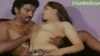 Hot desi boob pressing