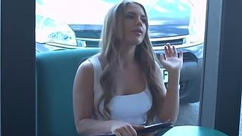 Private - Horny Beauty Alessandra Jane Fucked By Throbbing Cock!