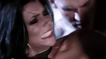 Digital Playground - Inked goth vampire Romi Rain gets pounded outdoors